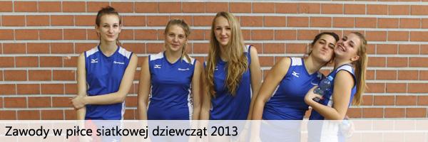 Zawody siatkarskie dziewcząt w Spodku 2013